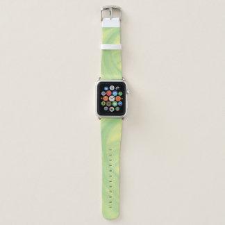 Lemon Lime  Swirl Apple Watch Band