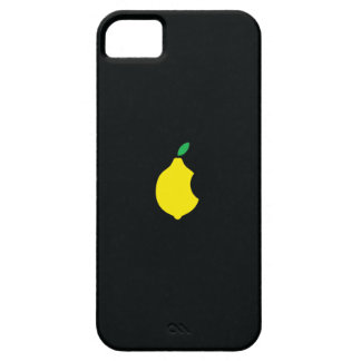 Lemon logo Custom iPhone 5 Case