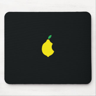lemon logo mousepad