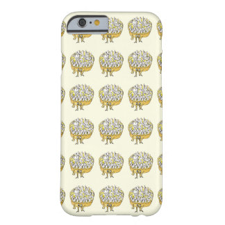 Lemon Meringue Pie Funny Quirky watercolour Art Barely There iPhone 6 Case