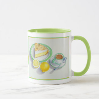 Lemon Meringue Pie with Espresso Mug