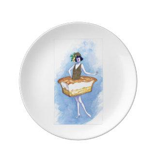 Lemon Meringue Plate Porcelain Plates
