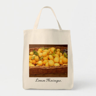 Lemon Meringue Shopping bag.