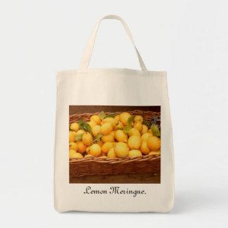 Lemon Meringue Shopping bag. Tote Bag
