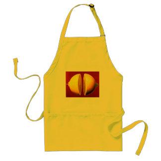 lemon on apron