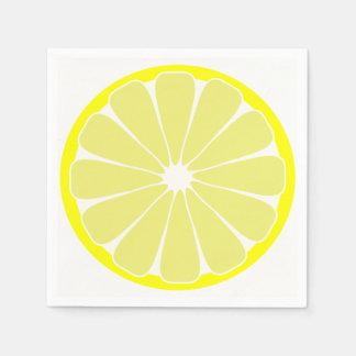 Lemon Paper Party Napkins Disposable Napkins