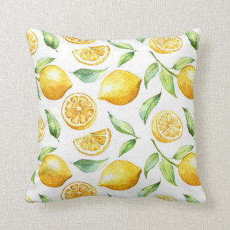 Lemon Passion Design Pillow