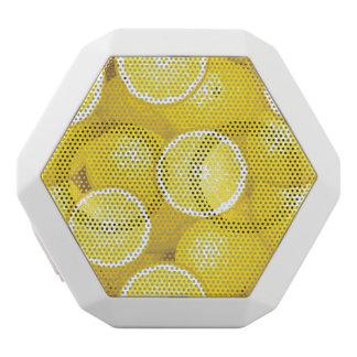 Lemon Pattern 2 White Boombot Rex Bluetooth Speaker
