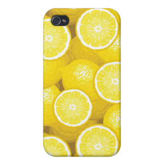 Lemon Pattern 2 iPhone 4/4S Case