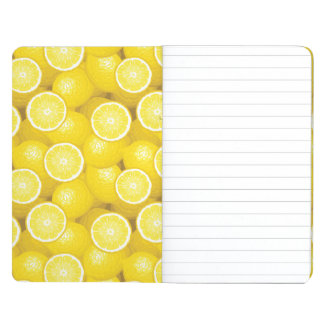 Lemon Pattern 2 Journal
