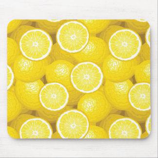 Lemon Pattern 2 Mouse Mat