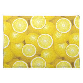Lemon Pattern 2 Placemat