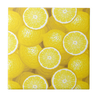 Lemon Pattern 2 Tile