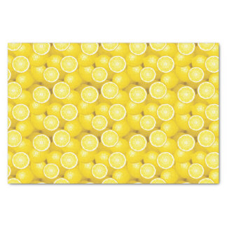 Lemon Pattern 2 Tissue Paper