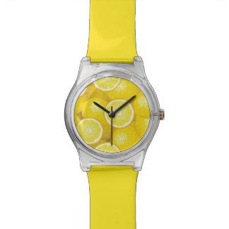 Lemon Pattern 2 Wristwatch