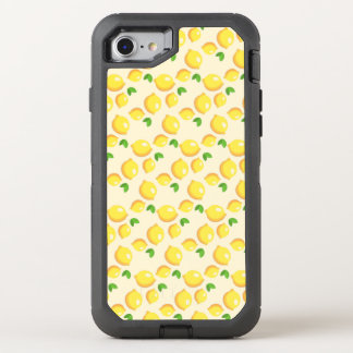 Lemon Pattern OtterBox Defender iPhone 7 Case