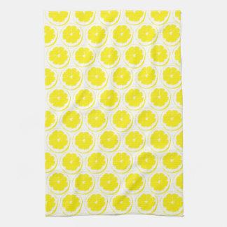 Lemon Pattern Tea Towel