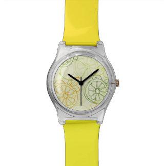 Lemon Pattern Wristwatch