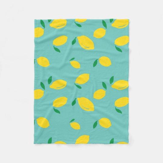 Lemon Patterned Blanket