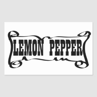 LEMON PEPPER 'SPICE JAR' STICKER