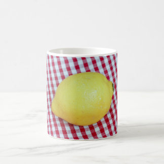 Lemon Picnic Basic White Mug