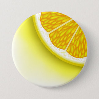 Lemon Pieces 7.5 Cm Round Badge