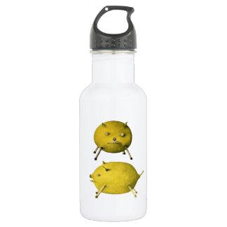 Lemon Pig - Vintage Illustration 532 Ml Water Bottle
