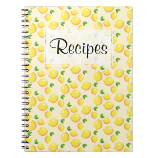 Lemon Recipe Journal