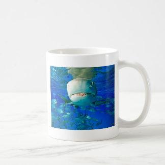Lemon Shark Basic White Mug