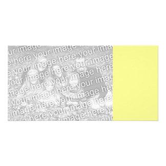 Lemon Sherbet Customized Photo Card