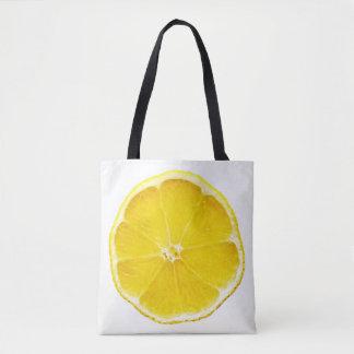 Lemon  Slice All-Over-Print Tote Bag