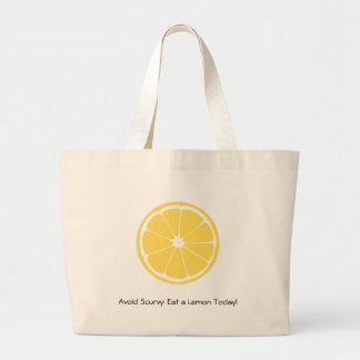 Lemon Slice Avoid Scurvy Tote Bag
