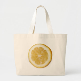 Lemon Slice Tote Bags
