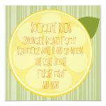 Lemon Slice Custom Invitations