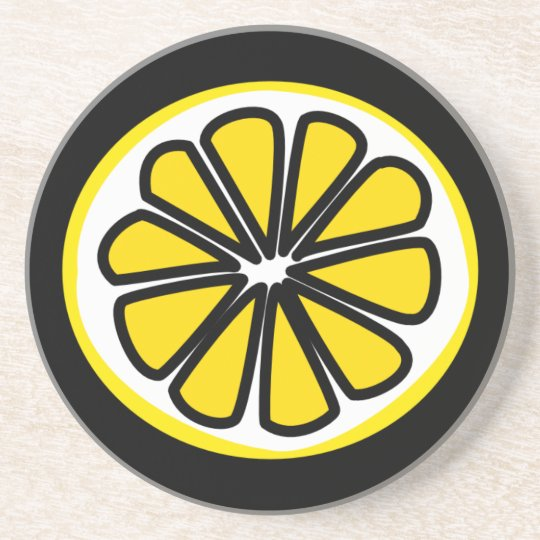 Lemon Slice Drink Coaster