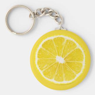 lemon slice key ring