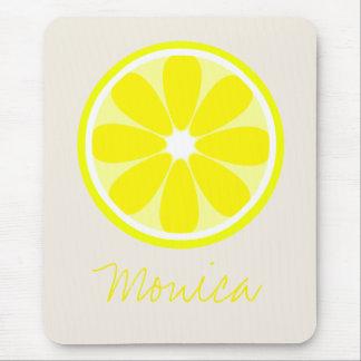 Lemon Slice Personalized Mousepad