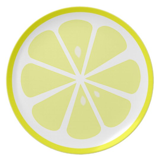 Lemon Slice Plate Design