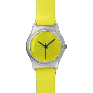 Lemon Slice Wristwatches