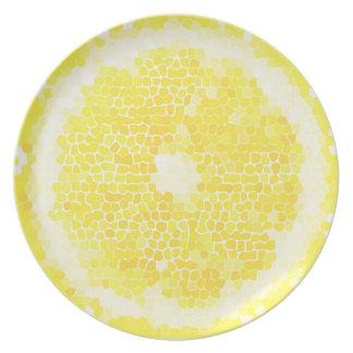 Lemon Sliced Party Plates