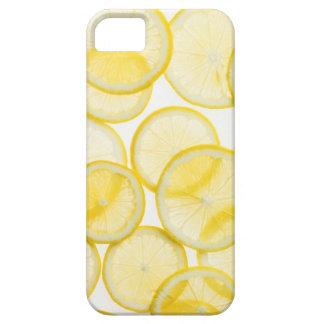 Lemon slices arranged in pattern backlit iPhone 5 case