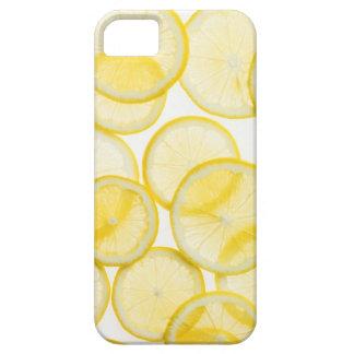 Lemon slices arranged in pattern backlit iPhone 5 cover