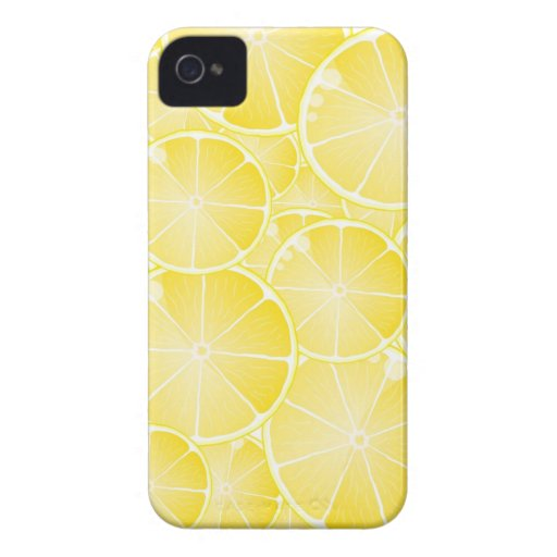 Lemon Slices iPhone 4 Cover