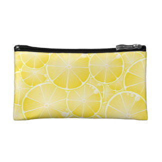 Lemon Slices Cosmetic Bags