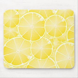 Lemon Slices Mouse Mat