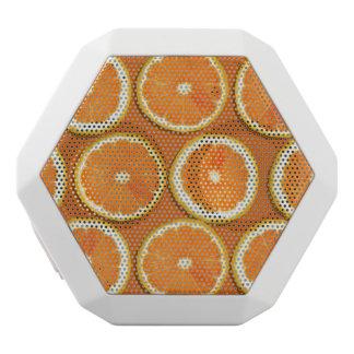 Lemon Slices Pattern White Boombot Rex Bluetooth Speaker