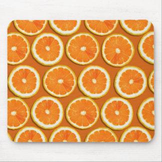Lemon Slices Pattern Mouse Pad