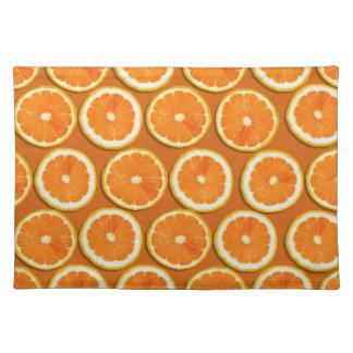 Lemon Slices Pattern Placemat