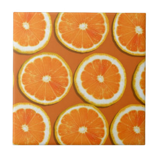 Lemon Slices Pattern Tile