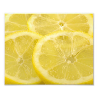 Lemon Slices Photo Art